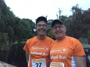 2016 Gallipoli Run, Max Ball and Garry Baverstock
